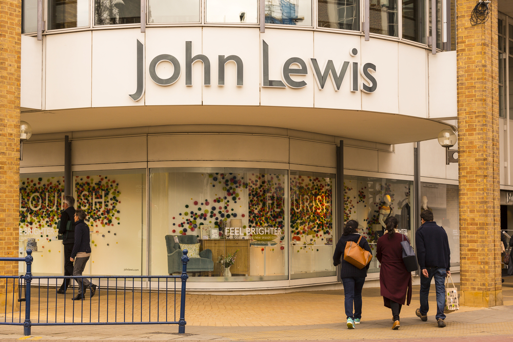 John Lewis Partnership profits fall 53.3%